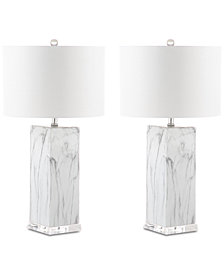 Safavieh Olympia Table Lamps, Set of 2