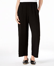 Alfred Dunner Barcelona Crepe Pull-On Pants