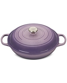 Signature Enameled Cast Iron 3.5-Qt. Braiser
