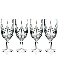 Marquis by Waterford Lacey Iced Beverage Glasses, Set of 4