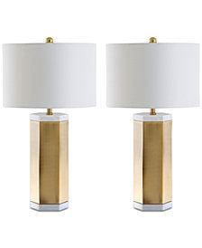 Safavieh Set of 2 Alya Table Lamps