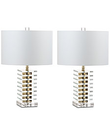 Safavieh Set of 2 Clancy Table Lamps