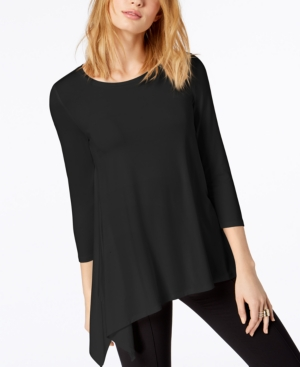 Image of Alfani Asymmetrical-Hem Top, Created for Macy's