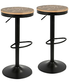 Dakota Bar Stool (Set Of 2), Quick Ship