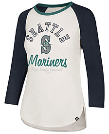 '47 Brand Women's Seattle Mariners Vintage Raglan T-Shirt