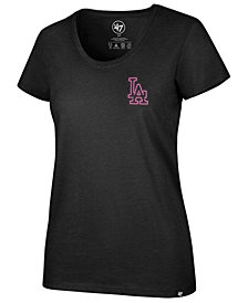 '47 Brand Women's Los Angeles Dodgers Neon T-Shirt