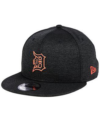 Detroit Tigers Jersey 9Fifty Snapback Cap - Grey New Era