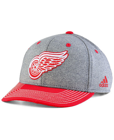 adidas Detroit Red Wings Heather Line Change Cap