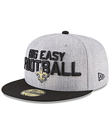 New Era New Orleans Saints Draft 59FIFTY FITTED Cap