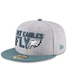 New Era Philadelphia Eagles Draft 59FIFTY FITTED Cap