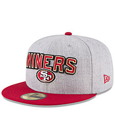 New Era San Francisco 49ers Draft 59FIFTY FITTED Cap