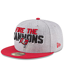 New Era Tampa Bay Buccaneers Draft 59FIFTY FITTED Cap