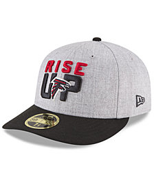 New Era Atlanta Falcons Draft Low Profile 59FIFTY FITTED Cap