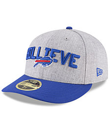 New Era Buffalo Bills Draft Low Profile 59FIFTY FITTED Cap