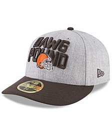 New Era Cleveland Browns Draft Low Profile 59FIFTY FITTED Cap