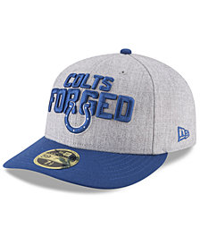 New Era Indianapolis Colts Draft Low Profile 59FIFTY FITTED Cap