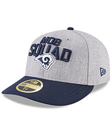 New Era Los Angeles Rams Draft Low Profile 59FIFTY FITTED Cap