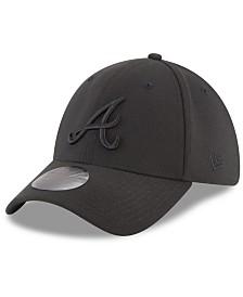 New Era Atlanta Braves Blackout 39THIRTY Cap