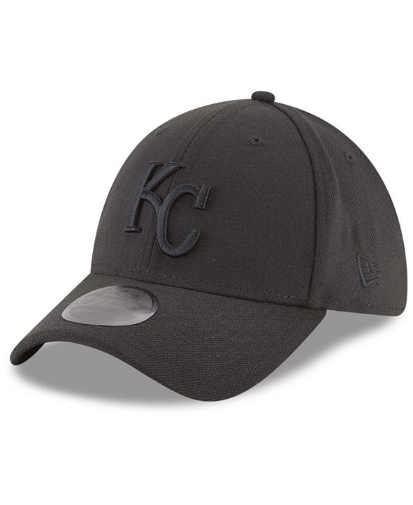 New Era Kansas City Royals Blackout 39THIRTY Cap