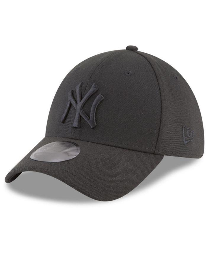New Era New York Yankees Blackout 39THIRTY Cap & Reviews - Sports Fan Shop By Lids - Men - Macy's