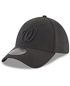 Washington Nationals Blackout 39THIRTY Cap