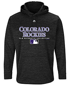 Majestic Men's Colorado Rockies Ultra Streak Fleece