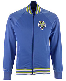 Mitchell & Ness Men's Seattle Sounders FC Top Prospect Track Jacket
