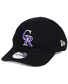 New Era Boys' Colorado Rockies Jr On-Field Replica 9TWENTY Cap