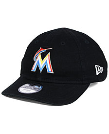 New Era Boys' Miami Marlins Jr On-Field Replica 9TWENTY Cap