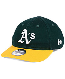 New Era Boys' Oakland Athletics Jr On-Field Replica 9TWENTY Cap