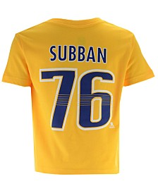 Outerstuff P.K. Subban Nashville Predators Player T-Shirt, Toddler Boys (2T-4T)