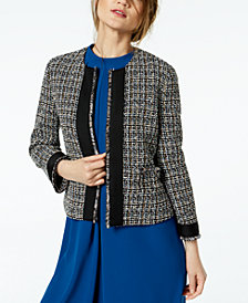 Marella Donna Tweed Jacket