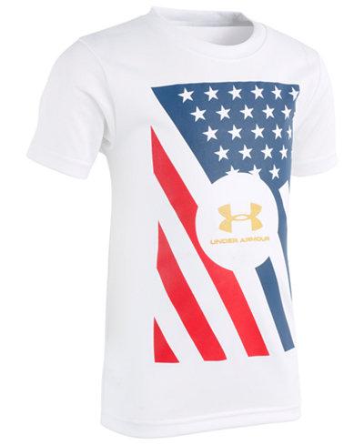 Under Armour Little Boys Graphic-Print T-Shirt