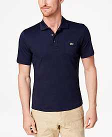 Lacoste Men's 85th Anniversary Limited 1930's Edition Interlock Polo