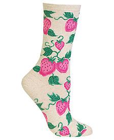 Hot Sox Women's Strawberry Socks