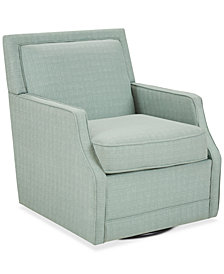 Mackie Swivel Chair, Quick Ship