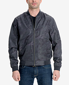 Michael Kors Men's Big and Tall Bomber Jacket