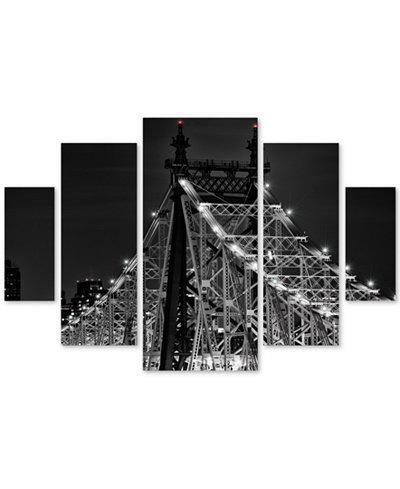 David Ayash 'Queensboro Bridge' Multi-Panel Wall Art Set