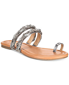 Thalia Sodi Jaelah Flat Toe-Ring Sandals, Created For Macy's