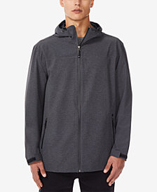 32 Degrees Men's Storm Tech Full-Zip Hooded Rain Jacket
