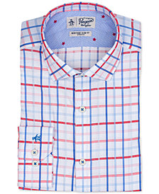 Original Penguin Men's Heritage Slim-Fit Stretch Check Dress Shirt