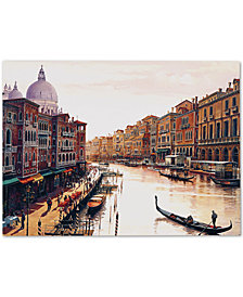 Hava 'Venice' Canvas Wall Art