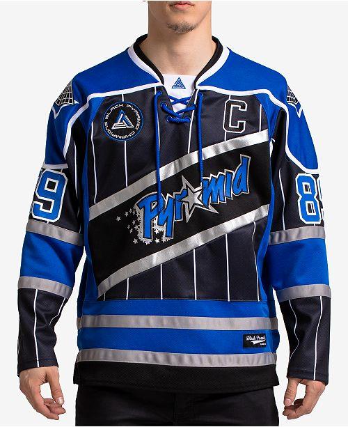 Black Pyramid Men s Printed Hockey Jersey - Hoodies   Sweatshirts ... d72af0dee