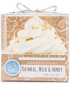 Fizz & Bubble Oatmeal, Milk & Honey Bath Fizzy Cupcake