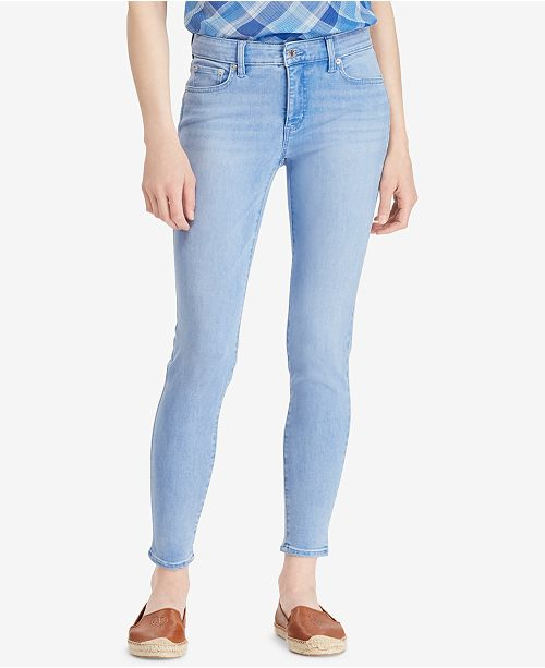 610e758f Lauren Ralph Lauren Premier Skinny Crop Jeans & Reviews ...