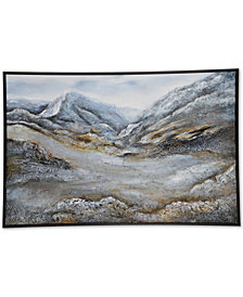 Ren Wil Winter Ridge Painting, Quick Ship