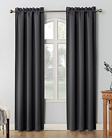 "CLOSEOUT! Shaw Theater Grade 80"" x 95"" Extreme Blackout Rod Pocket Curtain Panel Pair"