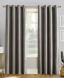 Sun Zero Reign Theater Grade Extreme Blackout Grommet Curtain Panels