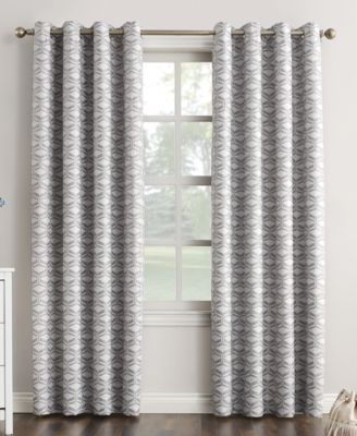 "Raleigh 52"" x 84"" Theater Grade Extreme Blackout Grommet Curtain Panel"