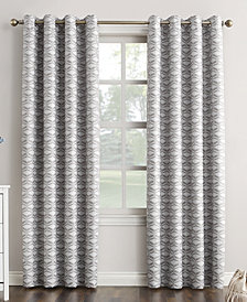 "Sun Zero Raleigh 52"" x 63"" Theater Grade Extreme Blackout Grommet Curtain Panel"